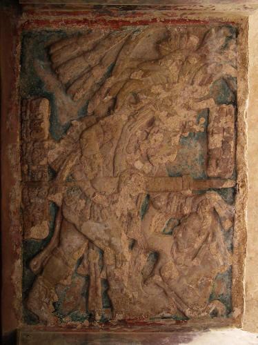 Esc, IX, Sacrifcio delenemigo vencido, Boniampak, Dintel, 850-900